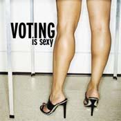 ¡Votar te hace sexy!