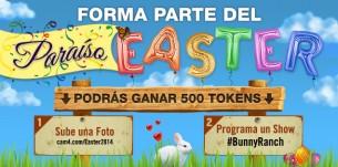 Únete a la Granja de Conejos de CAM4 en Pascua #BunnyRanch