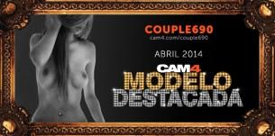 Couple690: La Modelo WebCam más Sexy de Abril