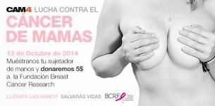 Pon tu granito con CAM4 en la Fundación para Prevención del Cáncer de Mama