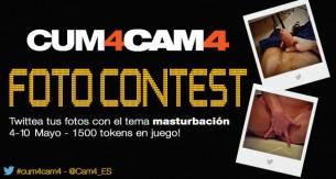 Vota por tus fotos sexy #cum4cam4 favoritas!