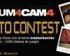 Concurso de fotos de masturbación Cum4cam4!