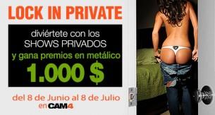 1000$ en juego para el Lock in Private 3.0 – El Reto de los Shows Privados