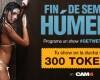 Fin de Semana Húmedo en CAM4: Tu show en la ducha vale 300 tokens!