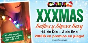 Concurso CAM4 XXXMas: 14 de Diciembre a 4 de Enero