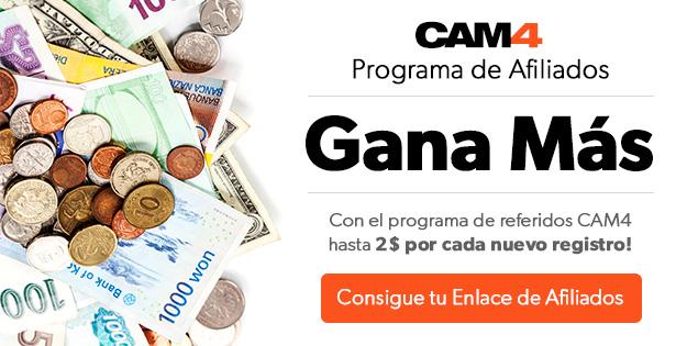 GANA MÁS con el nuevo PROGRAMA DE AFILIADOS de CAM4