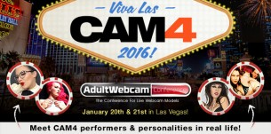 CAM4 y sus chicas triunfan en los Adult Webcam Awards de Las Vegas!