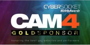 CAM4 gana el premio a Mejor Página de Webcams en los Cybersocket Web Awards