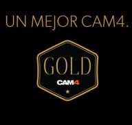 Hazte CAM4 Gold y aprovecha CAM4 al máximo