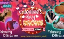 El fin de semana de San Valentín con Poison_dollz