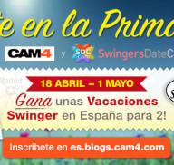 Métete en la primavera y gana unas vacaciones para swingers en el sur de España!