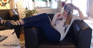 CAM4 entrevista a la camgirl rubia Caro Kittens