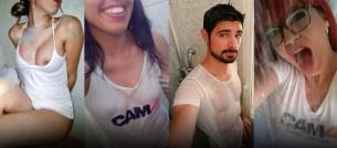 Chicos y chicas mojadas en CAM4!! (fotos #getwet)