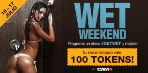 WET WEEKEND: Programa un show MOJADO y gana $$$
