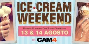 ¿Listos para lamer? Llega el fin de semana #icecream de CAM4!