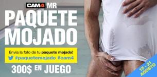 Concurso Mr Paquete Mojado CAM4 2016! Primer premio de 150$!