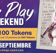 Role Play Weekend en CAM4: 9 a 11 de Septiembre