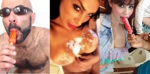 Sexo y helados: la galería de fotos #icecream