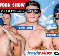 Frenchtwinks – Rodaje porno Gay en directo!