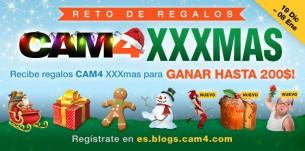Reto de Regalos CAM4 XXXmas! Actualización 3/1/17