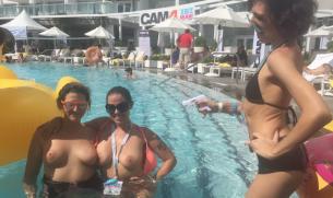 Cam4 estuvo en el XBIZ Miami! Te lo contamos todo!