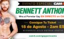 EVENTO ESPECIAL: El Pornstar Gay Bennett Anthony EN VIVO – Noche del 18 de Agosto