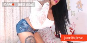 Entrevista sexy con la bella latina Juanittalove