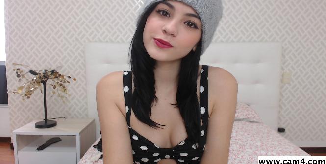 Giabaker la chica webcam de la semana en CAM4