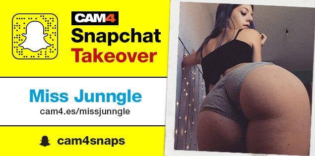 Snapchat Takeover de Missjunngle! – Domingo 26