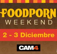 #FoodPorn Weekend – Deliciosos shows temáticos el 2 y 3 de Diciembre en CAM4