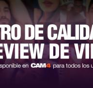 Novedades en la página principal de CAM4