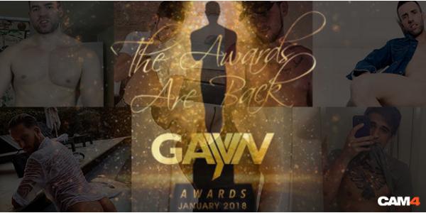 """Vuelven los GAYVN Awards con la categoría """"Favourite Cam Guy"""""""