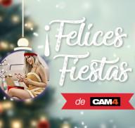Felices Fiestas y Feliz Año con CAM4!