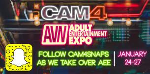 Sigue con CAM4 todo lo que sucede en la Adult Entertainment EXPO de Las Vegas!