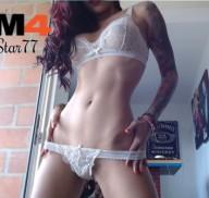 FallenStar77, la chica webcam de la semana en CAM4