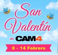 ❤ San Valentín ❤ llega a CAM4 con cientos de shows especiales