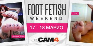 FOOT FETISH WEEKEND – 17-18 Marzo
