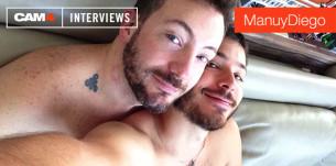 La pareja gay de moda en CAM4: Conoce a ManuyDiego
