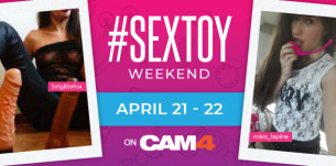 SexToy Weekend en CAM4! Maratón de shows con sex toys!