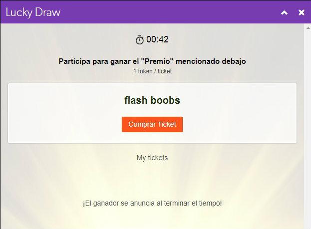 lucky draw 2blog