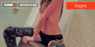 Entrevista sexy con la camgirl española Sagira