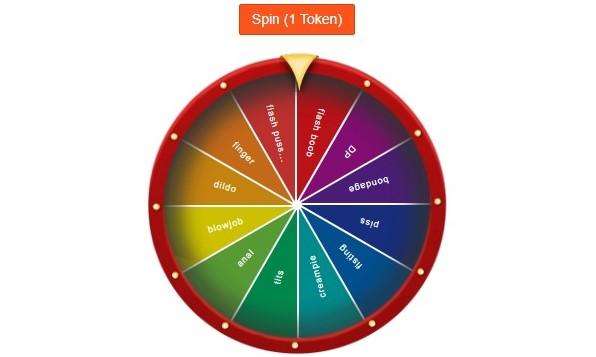 Nuevo juego en el chat CAM4: Gira la Ruleta!