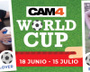 Empieza la maratón de shows #CAM4Worldcup! Vive el Mundial en CAM4!