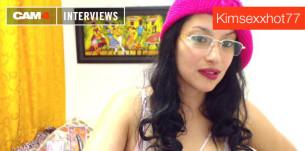 Entrevista con la ardiente camgirl Kimsexxhot77