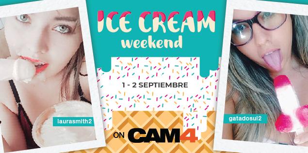 Maratón de shows con helado este fin de semana #Lickit (1-2 Septiembre)