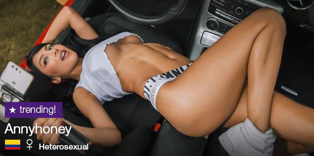 Annyhoney y sus shows de porno móvil, en la revista Camgirl