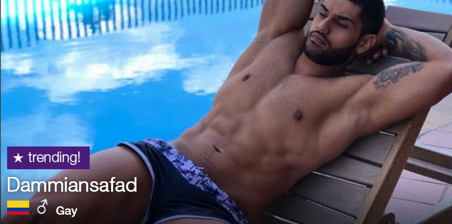 Descubre a Dammiansafad, el colombiano GAY que lo peta en CAM4