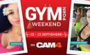 Maratón de Shows GYMPORN, este fin de semana vas a sudar mucho en CAM4!