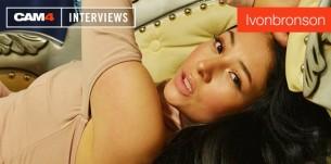 Entrevista con la sensual chica webcam Ivonbronson