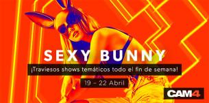 ¡Celebra la primavera con las conejitas de CAM4! ¡CAM4 Sexy Bunny!